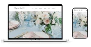 FlowersForTwo様Webサイト制作実績